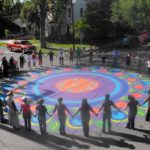 Street Painting Mandala
